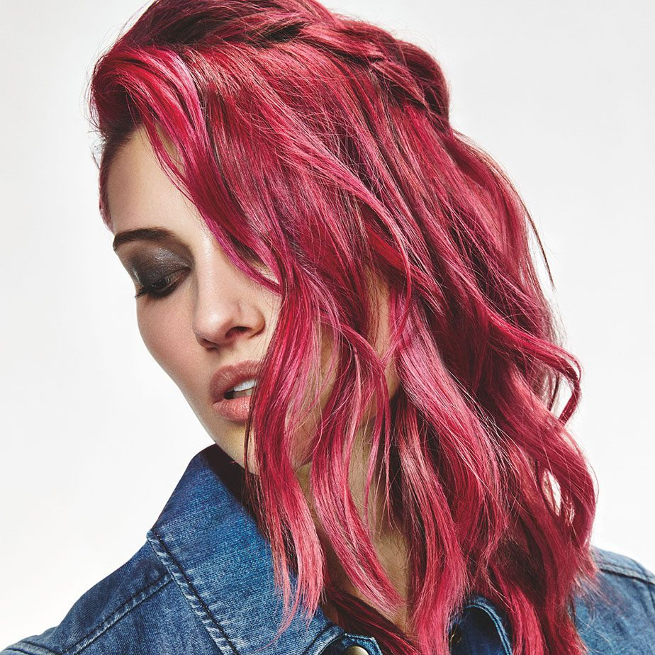 Visuell Pink Hair